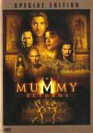The Mummy Returns - DVD cover (xs thumbnail)