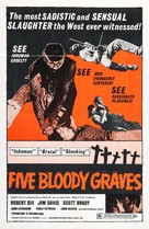 Five Bloody Graves - Movie Poster (xs thumbnail)