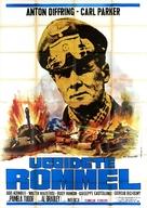 Uccidete Rommel - Italian Movie Poster (xs thumbnail)