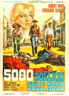 Pistoleros de Arizona - Italian Movie Poster (xs thumbnail)