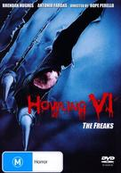 Howling VI: The Freaks - Australian DVD movie cover (xs thumbnail)