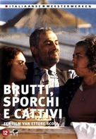 Brutti sporchi e cattivi - Dutch DVD cover (xs thumbnail)