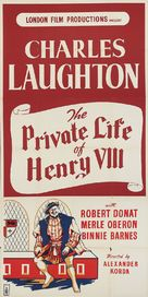 The Private Life of Henry VIII. - British Movie Poster (xs thumbnail)