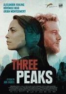 Three Peaks - German Movie Poster (xs thumbnail)