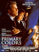 Primary Colors - French VHS cover (xs thumbnail)