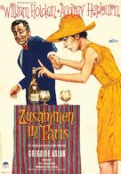 Paris - When It Sizzles - German Movie Poster (xs thumbnail)