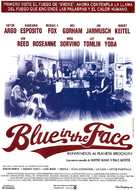 Blue in the Face - Spanish Movie Poster (xs thumbnail)