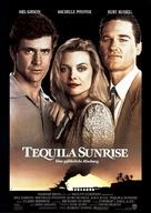 Tequila Sunrise - German Movie Poster (xs thumbnail)