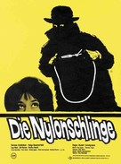 Die Nylonschlinge - German Movie Poster (xs thumbnail)