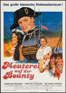 Mutiny on the Bounty - German Movie Poster (xs thumbnail)