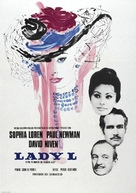 Lady L - Swedish Movie Poster (xs thumbnail)