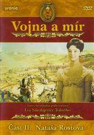Voyna i mir II: Natasha Rostova - Czech DVD cover (xs thumbnail)