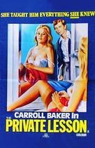 Lezioni private - Movie Poster (xs thumbnail)