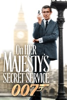 On Her Majesty's Secret Service - DVD movie cover (xs thumbnail)