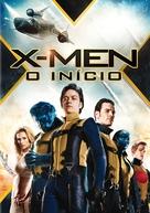 X-Men: First Class - Portuguese DVD movie cover (xs thumbnail)
