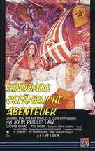 The Golden Voyage of Sinbad - German VHS movie cover (xs thumbnail)