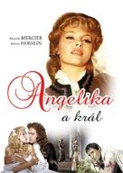 Angélique et le roy - Czech DVD movie cover (xs thumbnail)