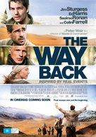 The Way Back - Australian Movie Poster (xs thumbnail)