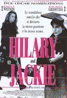 Hilary and Jackie - Italian Movie Poster (xs thumbnail)