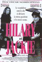 Hilary and Jackie - Italian Movie Poster (xs thumbnail)