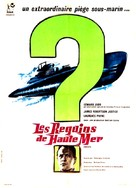 Mystery Submarine - French Movie Poster (xs thumbnail)