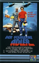 Iron Eagle - German VHS cover (xs thumbnail)
