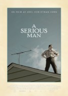 A Serious Man - Swedish Movie Poster (xs thumbnail)