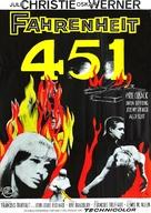Fahrenheit 451 - Swedish Movie Poster (xs thumbnail)