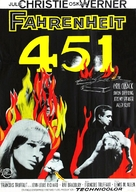 Fahrenheit 451 - Swedish Movie Poster (xs thumbnail)