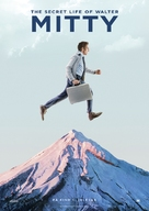 The Secret Life of Walter Mitty - Norwegian Movie Poster (xs thumbnail)