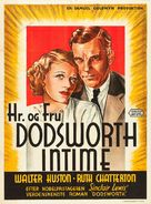 Dodsworth - Danish Movie Poster (xs thumbnail)
