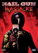 The Nail Gun Massacre - German Blu-Ray cover (xs thumbnail)