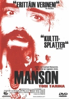 The Manson Family - Finnish DVD cover (xs thumbnail)