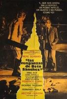 Las venganzas de Beto Sánchez - Argentinian Movie Poster (xs thumbnail)