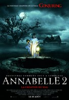 Annabelle: Creation - French Movie Poster (xs thumbnail)