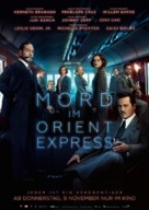 Murder on the Orient Express - German Movie Poster (xs thumbnail)