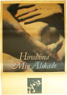 Hiroshima mon amour - Swedish Movie Poster (xs thumbnail)