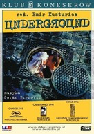 Underground - Polish Movie Poster (xs thumbnail)