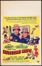 Abbott and Costello Meet the Keystone Kops - Movie Poster (xs thumbnail)
