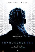 Transcendence - Singaporean Movie Poster (xs thumbnail)