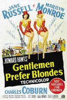 Gentlemen Prefer Blondes - Australian Movie Poster (xs thumbnail)