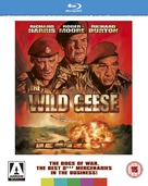 The Wild Geese - British Blu-Ray movie cover (xs thumbnail)