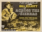 Across the Sierras - Movie Poster (xs thumbnail)