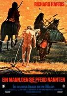 A Man Called Horse - German Movie Poster (xs thumbnail)