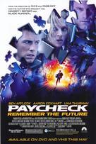 Paycheck - Movie Poster (xs thumbnail)