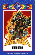 Bigfoot - German DVD cover (xs thumbnail)