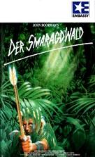 The Emerald Forest - German VHS cover (xs thumbnail)