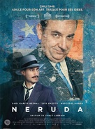 Neruda - French Movie Poster (xs thumbnail)