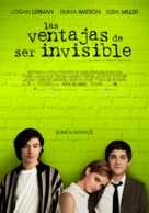 The Perks of Being a Wallflower - Argentinian Movie Poster (xs thumbnail)