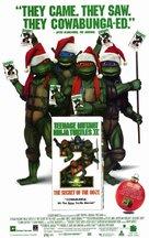 Teenage Mutant Ninja Turtles II: The Secret of the Ooze - Video release poster (xs thumbnail)